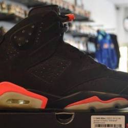 Jordan 6 infrared pre owned 11...