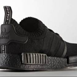 Adidas nmd pk japan triple bla...