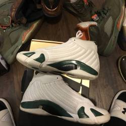 Jordan forrest green 14s