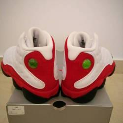 Air jordan 13 white true red