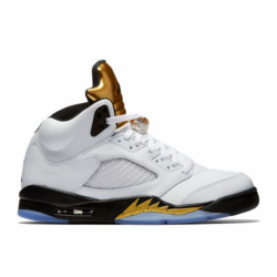 Air jordan 5 retro gold tongue...