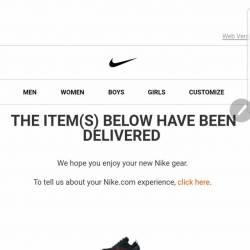 Nike hyper adapt e.a.r.l. univ...