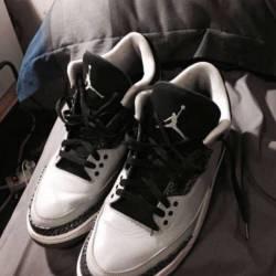 """Jordan""""wolf grey"""" 3's"""