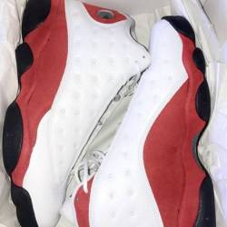 Air jordan 13 white true red