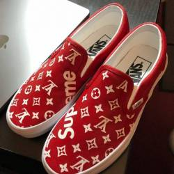 Louis vuitton x supreme custom...