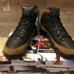 Air jordan 9 nrg olive black 8...