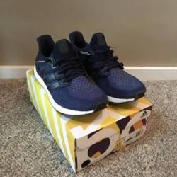 Shop  Adidas Ultra Boost Collegiate Navy  bd74218a28