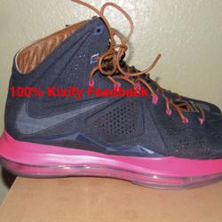 buy online 47fb4 c03de  369 Nike lebron 10 denim ext qs