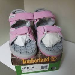 Timberland juniors sandals pin...