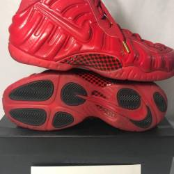 Nike air foamposite pro - gym red