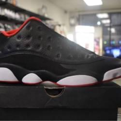Jordan 13 low bred pre owned