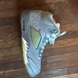 "Air jordan 5 retro ""wolf grey""..."