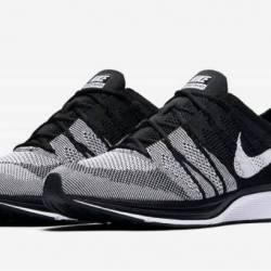 Nike flyknit trainer oreo blac...