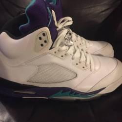 Jordan grape 5's size12 $199 s...