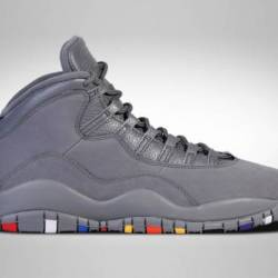 Air jordan 10 retro cool grey ...