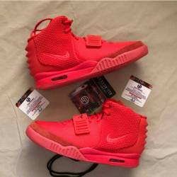 Nike air yeezy 2 nrg red october