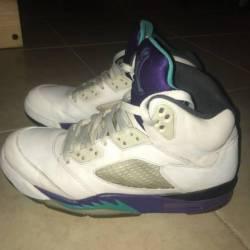 Jordan white grape 5s