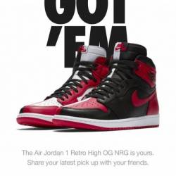 Air jordan 1 retro high og nrg