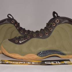 Nike air foamposite one olive ...
