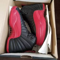 Air jordan 12 gs flu game