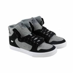 Supra vaider mens black gray t...
