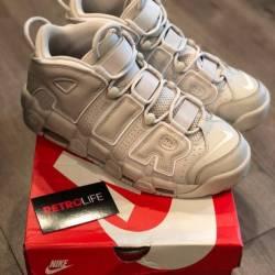 Nike uptempo cream