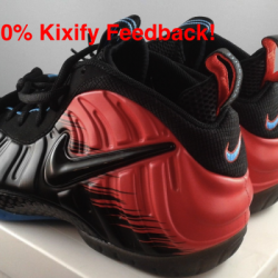 Nike air foamposite pro spiderman