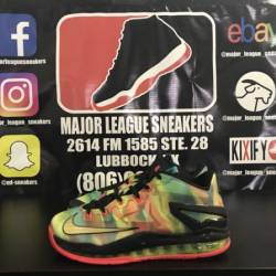 Nike lebron 11 low se multi-co...