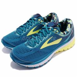 Brooks ghost 10 blue yellow wh...