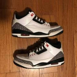Air jordan 3 - white black