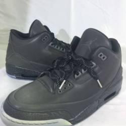 Jordan retro 3 5lab3 black siz...