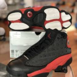 Air jordan 13 xiii retro bred ...