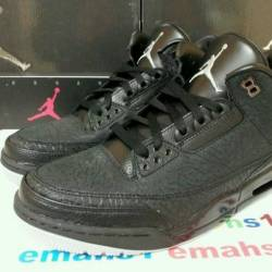 Nike air jordan 3 retro black ...