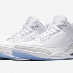 Nike air jordan retro 3 pure m...