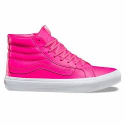 Vans sk8 hi slim (neon leather...