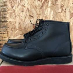 "Red wing  6"" moc toe boot - bl..."