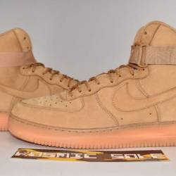 Nike air force 1 high flax whe...