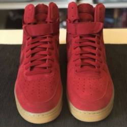 Nike air force 1 af1 red suede...