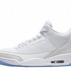 Air jordan 3 retro pure white ...