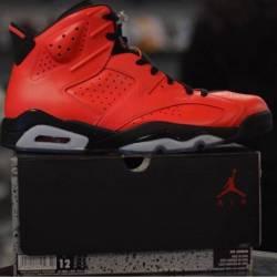 Jordan 6 infrared 23 pre owned...