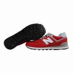 New balance 574 classic red gr...