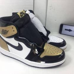 Air jordan 1 retro top 3 gold ...