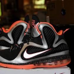 Nike air lebron ix 9 mango sil...