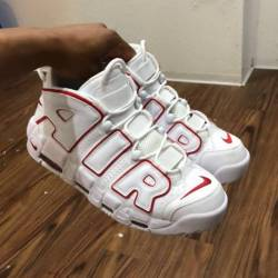 Nike air more uptempo white va...
