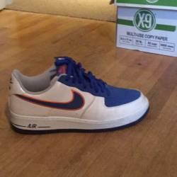 Air force 1 - white/blue/orange
