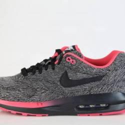 Nike lunar max 1 id black whit...