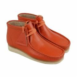 Clarks wallabee boot mens oran...