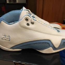 Air jordan xxi 21 low white ca...