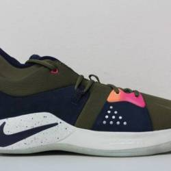 Nike mens pg 2 acg olive canva...