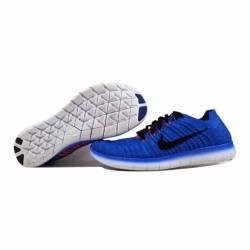Nike free run flyknit racer bl...